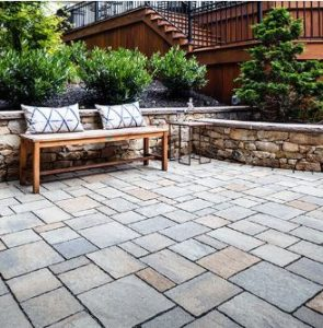 Snow removal tips to keep concrete pavers looking their best. 2