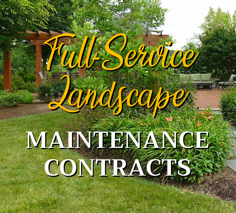 Full-Service Landscape Maintenance Contracts