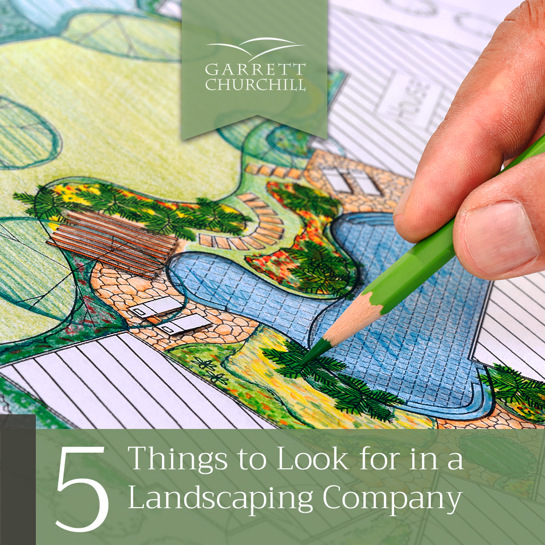 You are currently viewing 5 Things to Look for in a Landscaping Company