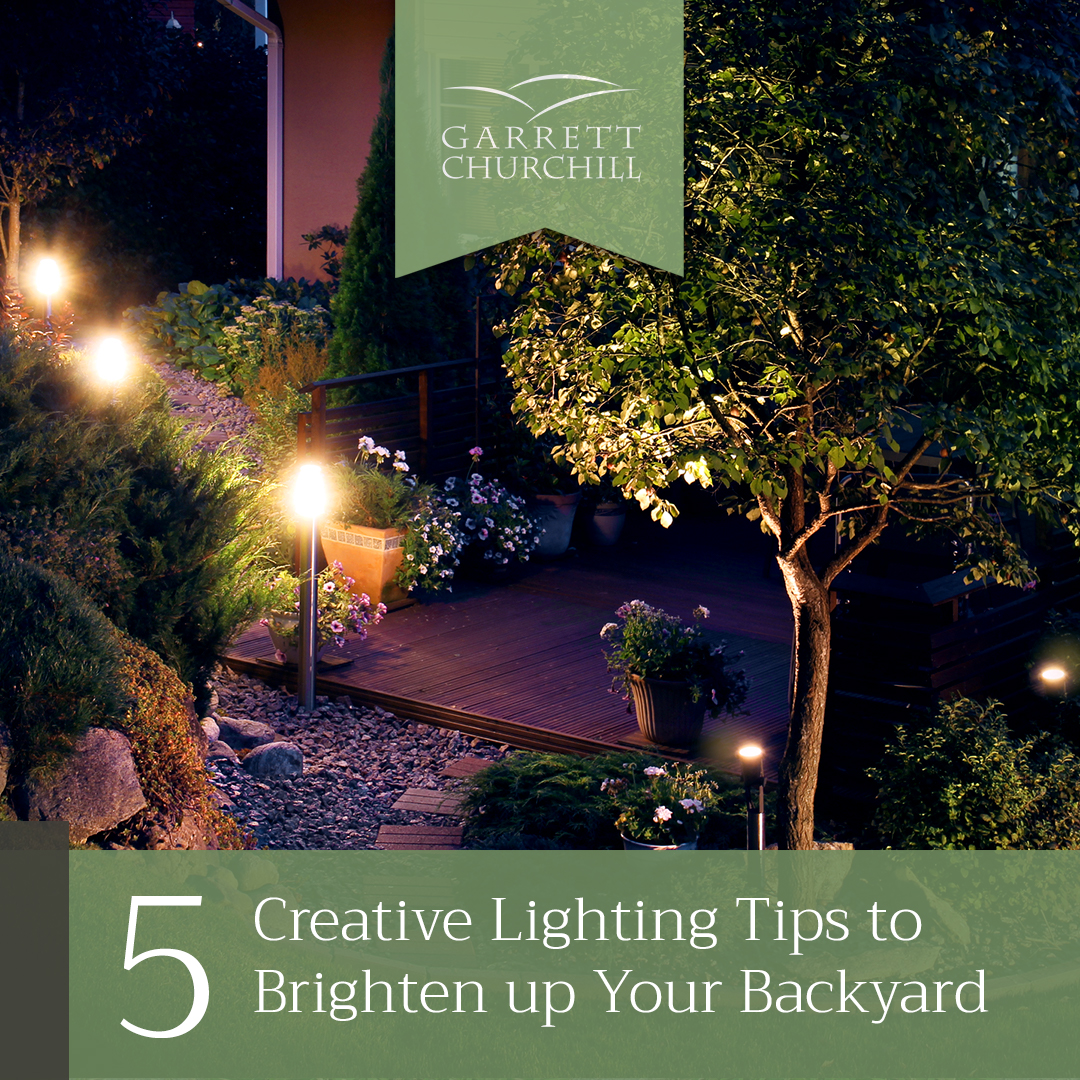 Read more about the article 5 Creative Lighting Tips to Brighten up Your Backyard