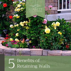 Read more about the article 5 Benefits of Retaining Walls