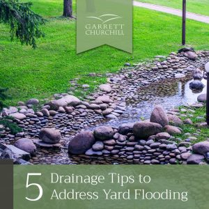 Read more about the article 5 Drainage Tips to Address Yard Flooding